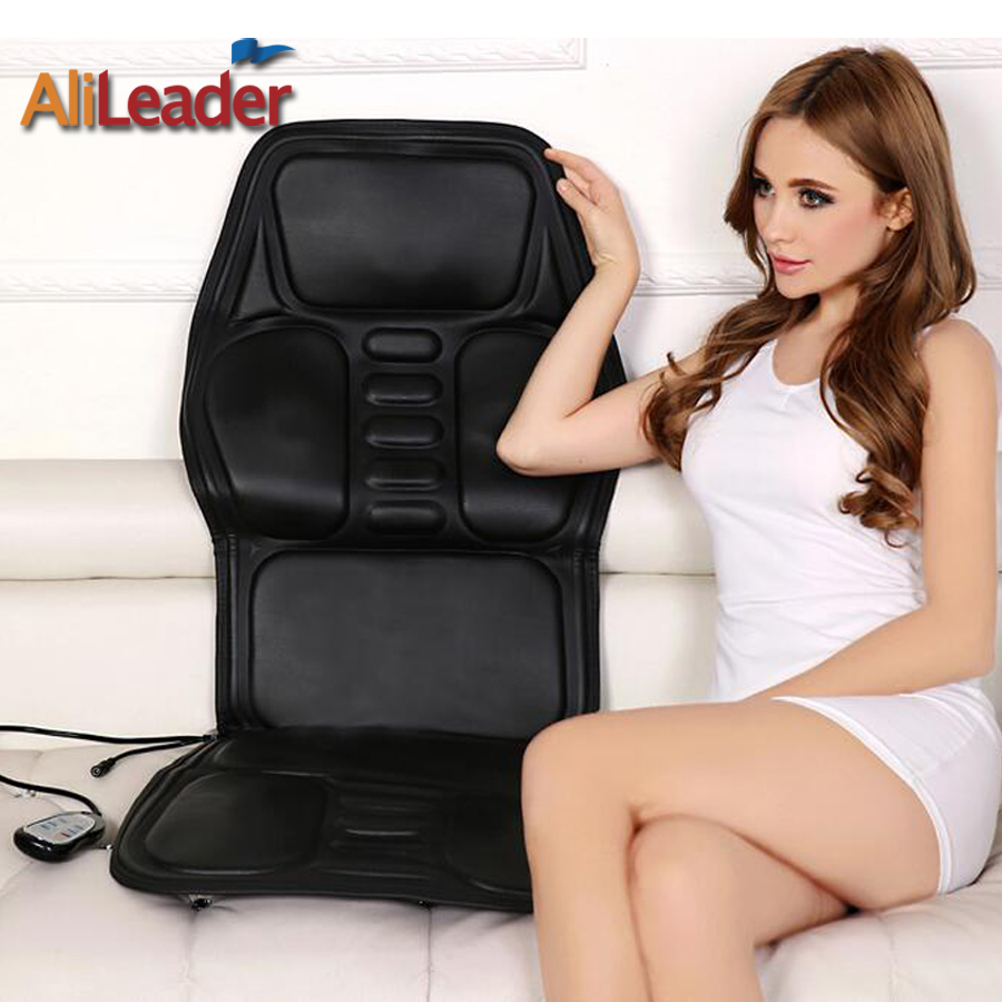 Massage Mattress Cushion Collapsible Full-body 8 Mode Electric Far Infrared Health Leader Chair Relieve Body Fatigue Massager luxury household multifunctional full body massage chair electric fully automatic massage sofa chair relieve fatigue tb180923
