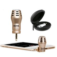 BY A100 Omni Directional Condenser Microphone Video Mic for IOS or Android font b Smartphone b