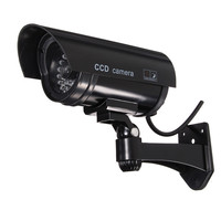 Hot Sale Simulation Dummy Camera Fake Surveillance Camera IR LED Safely Security Black Plastic Hot Sale