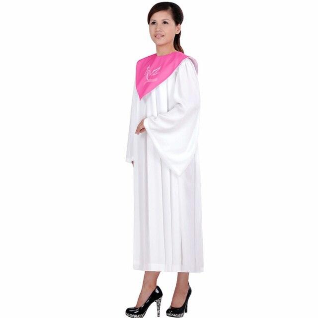 High Quality Church Dress Wear Cl Service Wedding Hymn Holy Garment Nun Costume