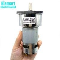 Bringsmart 80kg.cm Large Torque 5~500rpm 35W 775 12V DC Gear Motor 24V Mini Electric Machine Reducer For Electric Tools