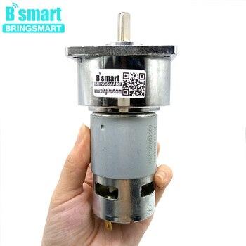 Bringsmart-reductor de engranajes eléctrico para herramientas eléctricas, de 24V, 5 ~ 500rpm, 35W, 775, 12V, 80kg.cm de alto