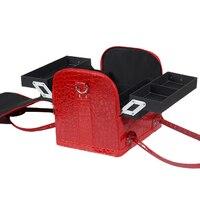 Homeda Cosmetic Bag Makeup Travel Professional Make Up Box Brush Necessaries Estojo Bauty Case Functional Bag