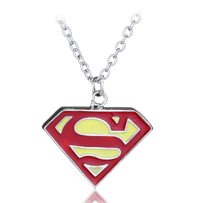 Movie jewelry superman s logo charm pendant necklace 4 colors in movie jewelry superman s logo charm pendant necklace 4 colors in pendant necklaces from jewelry accessories on aliexpress alibaba group aloadofball Choice Image