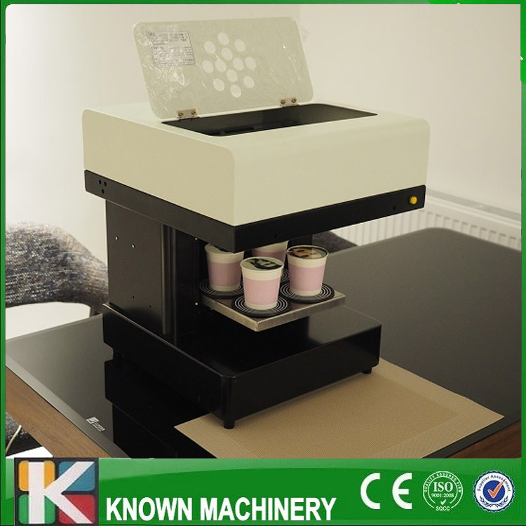 4 head best selling 3D edible ink printer for coffee manufacturer dirctly supply/ food printer / selfie coffee drinks printer best selling gongzheng large format inkjet printer ink supply board