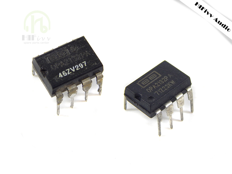 Hifivv audio OPA2132 operational amplifier OPA2132PA hifi audio op amp IC chip double channel amplifier