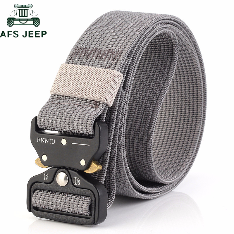 New 2018 Military Equipment Tactical Belt Multifunctional Nylon Heavy Duty Outdoor Training Belt Quick Release Soldier Army belt