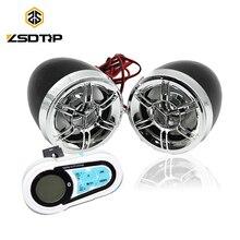 ZSDTRP, руль мотоцикла, Bluetooth, MP3 плеер, колонки, моторная велосипедная аудиосистема, USB TF, fm-радио, стерео музыкальные колонки