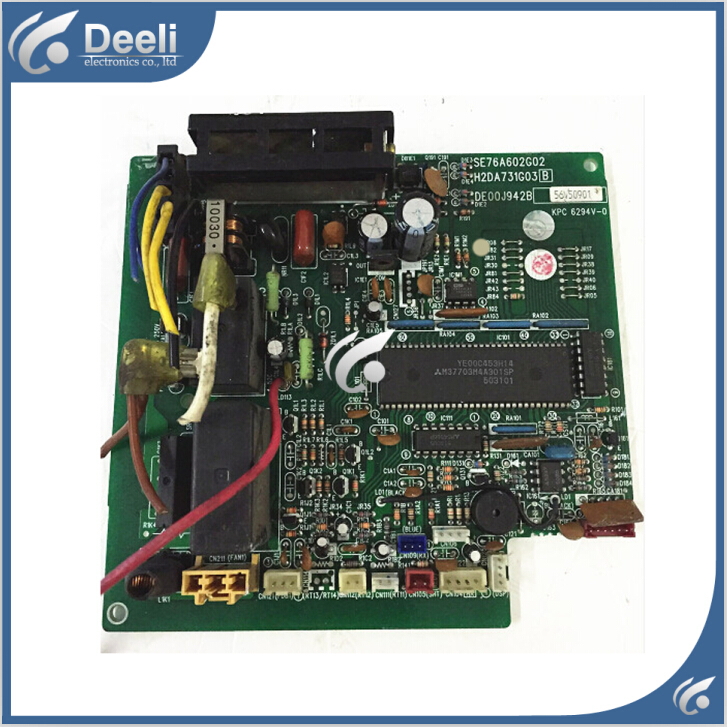 95% new good working for Mitsubishi air conditioning Computer board SE76A602G02 H2DA731G03B DE00J942B control board epia ml8000ag epia ml 8000ag epia ml rev a industrial board 17 17 well tested working good