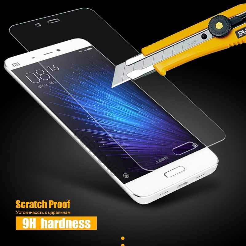 С уровнем твердости 9 H закаленное Стекло для Xiaomi Mi5 Mi4i Mi4c Mi4 чехол для Redmi 5A Note 2 3 Pro Prime 3X3 S 4A Экран защитная пленка