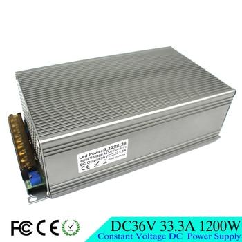 Pojedyncze wyjście DC36V 33.3A 1200 W zasilacz impulsowy Driver 110 V 220 V AC DC 36 V zasilacz do taśmy LED CNC 3D silnik drukarki CCTV