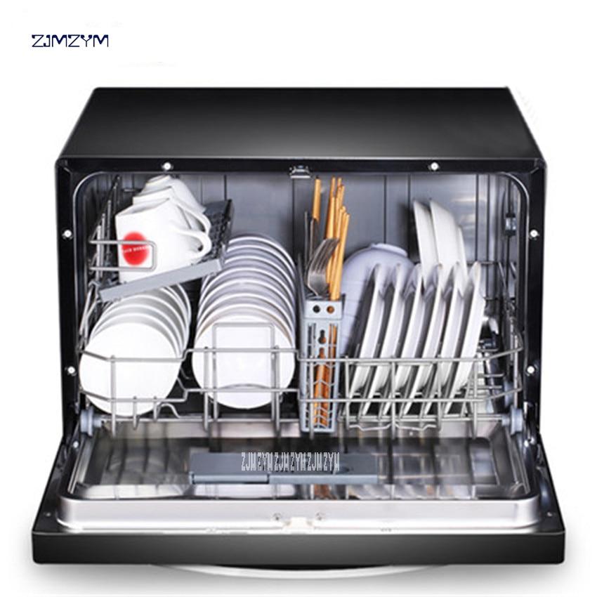 Dish Washers Bright Jiqi Automatic Intelligent Desktop Embedded Dishwasher Scrub Household Electric Bowl Dishes Washing Machine With Led Eu Us Plug