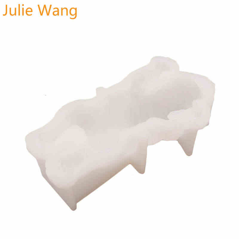 Julie Wang Shar Pei Cão de Food-grade de Silicone Bolo Moldes Pudim de Sorvete Alimentos FDA Molde de Fundição de Epóxi Jóias ferramenta de tomada de