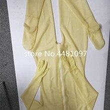 Латексные резиновые Боди с перчатками и носками латексные резиновые полные трико молния сзади сексуальный костюм зентай Экзотическая одежда комплект нижнего белья