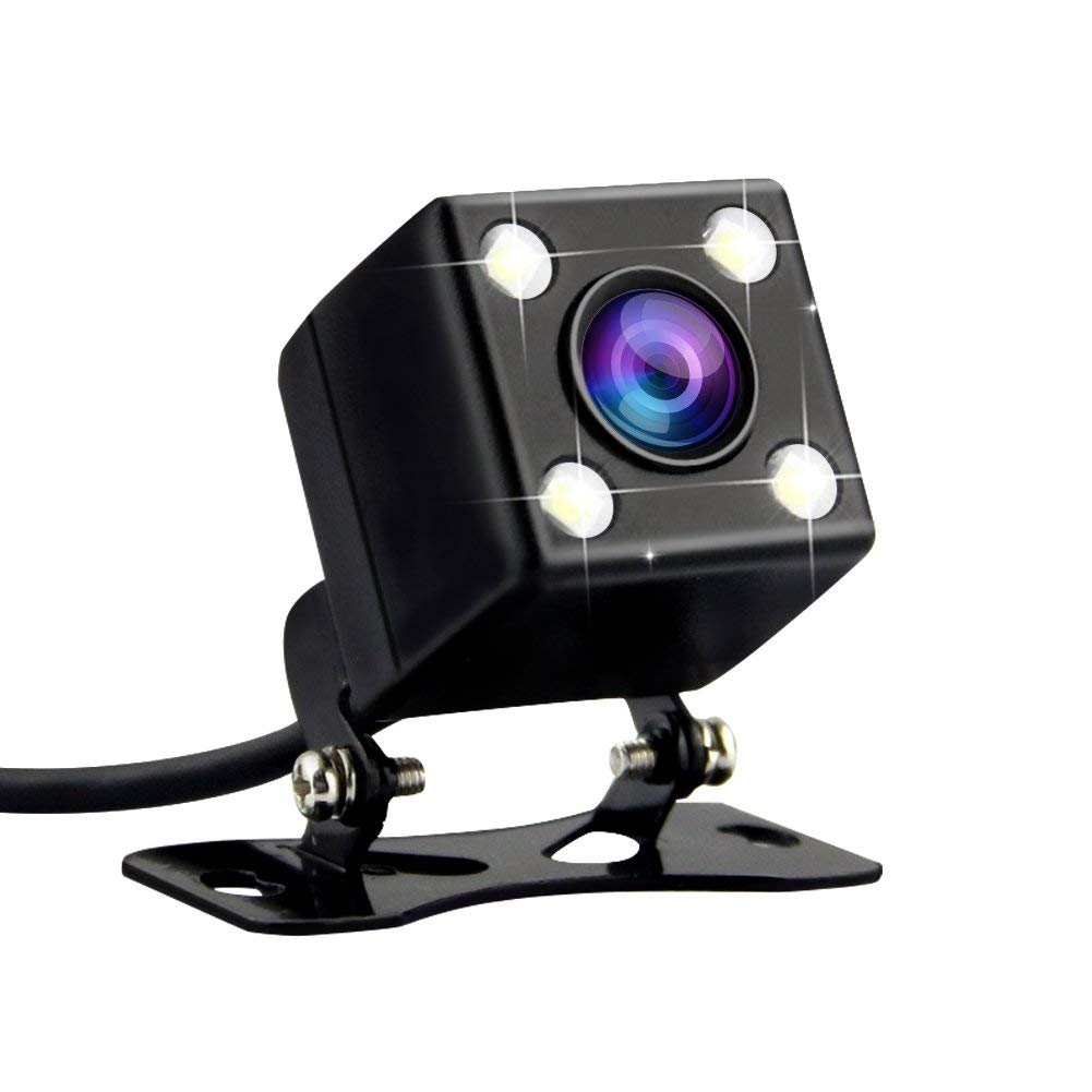 Camera With 4-Led Night-Vision Ipx67/waterproof Backup Car Car-Parking-Reverse Rear-View
