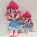 36CM New Plush Toys The Good Luck Trolls Dream Magic Fairy Hair Wizard Blanche Bobbi Magic elf Stuffed Cartoon Doll Kids Gifts