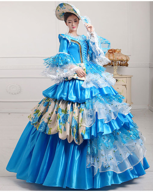 Halloween costumes for women deluxe edwardian costume mittelalter ...