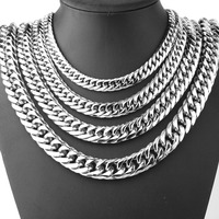 2019 Fashion Stainless steel necklace unisex snake chain Necklace for Men and Women Golden silver black necklace jewelry