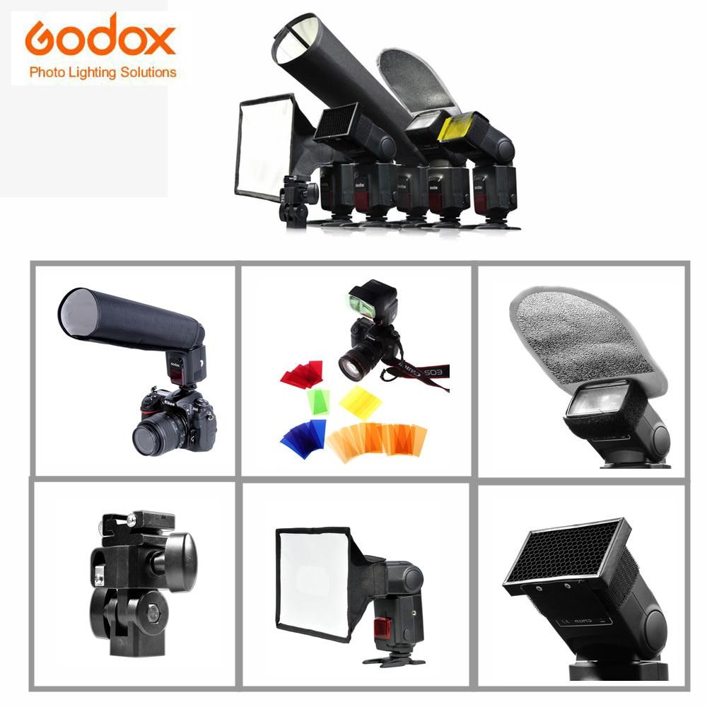 Godox SA-K6 6 en 1 Kit de accesorios Speedlite para fotografía - Cámara y foto