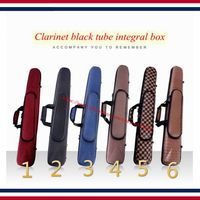 Clarinet case Clarinet accessories B the bags of the clarinet, clarinet bags, 6 kinds of color can choose