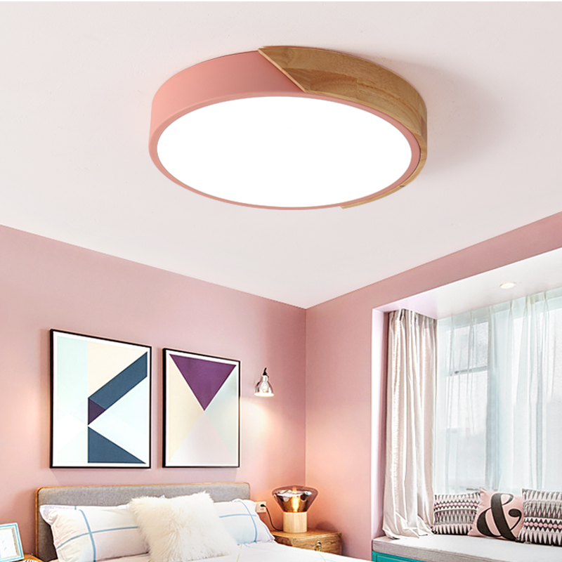 Ultra-thin roof LED lighting ceiling lights for living room ceiling lamps for living room modern ceiling lamp high 5cm ultra thin 5cm wooden acrylic led ceiling lights for living dining room home lighting 60w 96w modern large ceiling lamp fixture