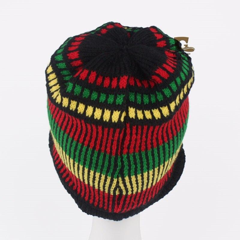 Nuovo Bob Marley Giamaicano Rasta Beanie Cappello di Inverno Caldo Cap  Reggae Multi colored Della Banda Hip Hop in Nuovo Bob Marley Giamaicano Rasta  Beanie ... 64dceae6c595
