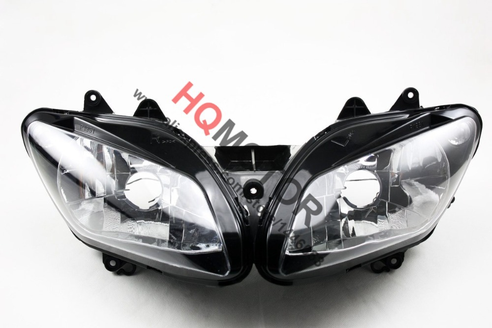 Headlight Assembly Headlamp For Yamaha YZF R1 02 03 YZF R1 YZF 1000 R1 2002 2003 right combination headlight assembly for lifan s4121200