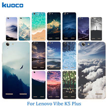 Coque for Lenovo Vibe K5 Shell K5 Plus Lemon 3 A6020 Phone Case Landscape Pattern Soft TPU Silicon For Lenovo A 6020 Back Covers(China)