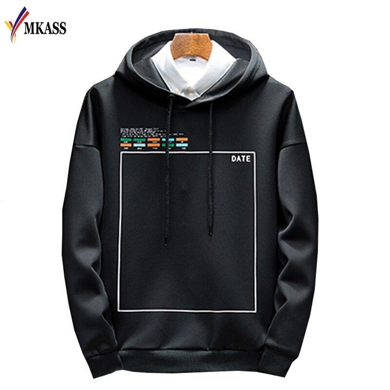 2019 Spring New Arrival Printed Sportswear Males Sweatshirt Hip-Hop Male Hooded Hoodies Pullover Hoody clothes Hoodies & Sweatshirts, Low cost Hoodies & Sweatshirts, 2019 Spring New Arrival Printed Sportswear...
