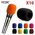 10Pcs/lot Handheld Stage wireless microphone Windscreen Foam Mic Cover Karaoke DJ Sales Rosy EN9977