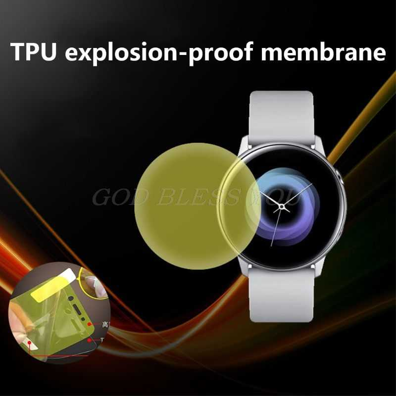 Protective Film Screen Protector Explosion-proof High Definition Anti-shock for Samsung Galaxy Watch Active Smart Accessories