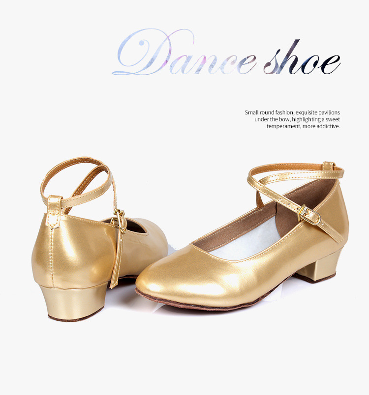 catch shoes for cheap new images of Kids Latin Tango Ballroom Dance Shoes for Kids Girls Gold Silver ...