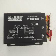 20A 24 volt-12 volt konverter für automobil.