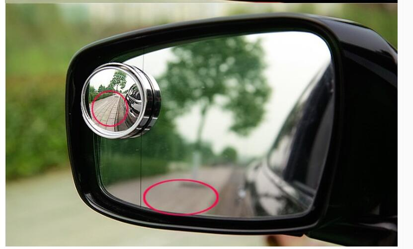 Auto-styling 360 degree blind spot small round mirror sticker for VW Volkswagen Golf MK4 MK5 MK6 Passat B6 B7 Jetta Tiguan