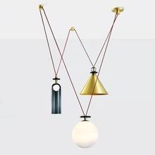 Livewin Modern Kolye Işık kolye lamba Şekli Up Lüks Cilalar Art Deco Hanglamp Oturma Odası Aydınlatma Süspansiyon Armatür
