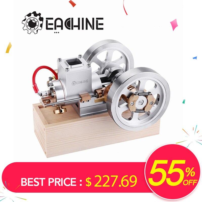 Eachine ET1 TRONCO Upgrade Hit & Perder Motor A Gás Modelo Do Motor Stirling Motor de Combustão Coleção Projeto DIY