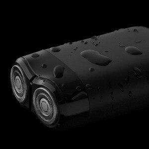 Image 3 - Più nuovo 2019 Xiaomi Norma Mijia Rasoio Elettrico 2 Galleggiante Testa Portatile Impermeabile Rasoio Rasoi USB Ricaricabile In Acciaio per Gli Uomini