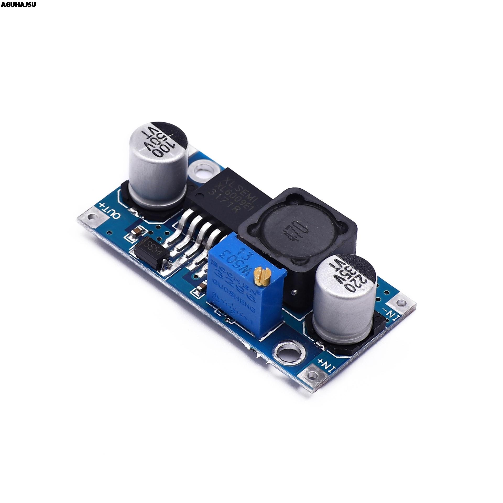 1 шт., регулируемый Повышающий Модуль преобразователя мощности XL6009, замена LM2577