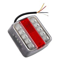 14 Leds Car Warning Lights Brake Stop Lamp DC 12V Car Styling Trailer Boat Caravan Taillight