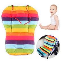 Удобный коврик для детской коляски, четыре сезона, мягкая подушка для сиденья, подушка для детской коляски, подушка для детского кресла, подушка для сиденья