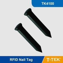 NT01 125 КГц RFID Ногтей Тегов для Дерева Управления Патруль Система LF RFID Тегов с TK4100/EM4100 Чип Бесплатно доставка