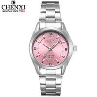 dames occasionnels montre 2018 CHENXI Pink Girl's Fine Watch Hot Watch Anti Diamond Embellishment Fashion Casual Ladies Watch