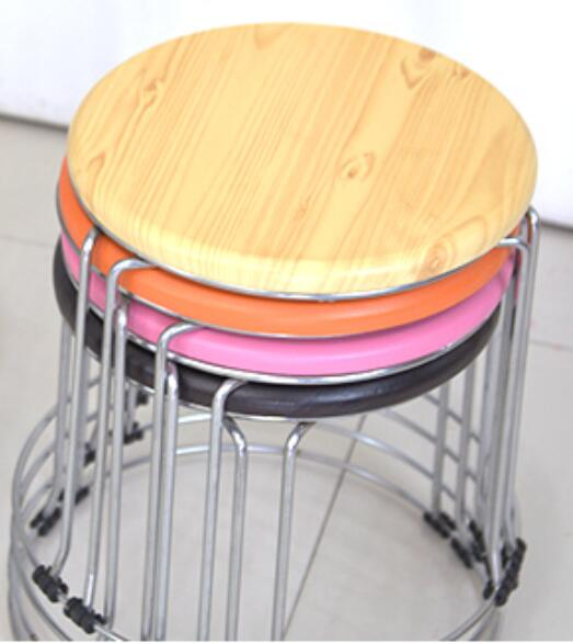 Wholesale 30*32cm Colorful Round Stool Living Room stool Hotel Cafe Bar stoolsWholesale 30*32cm Colorful Round Stool Living Room stool Hotel Cafe Bar stools