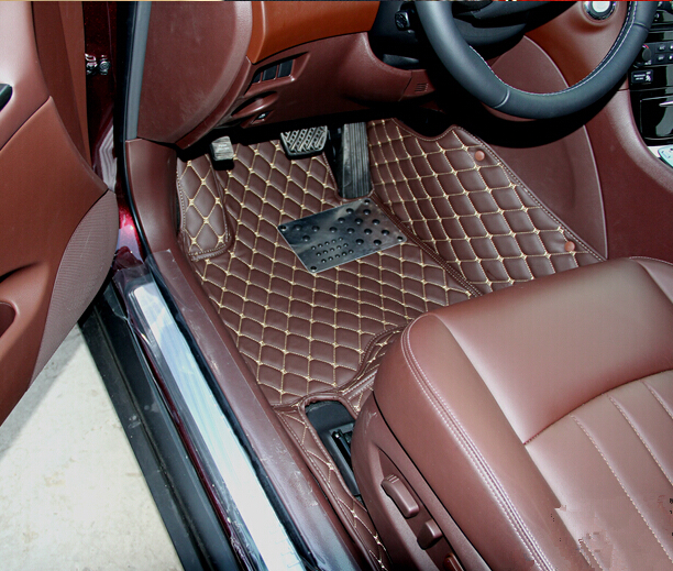 no odor full surrounded Special car floor mats for InfinitiEX35 durable waterproof foot carpets easy clean non slip