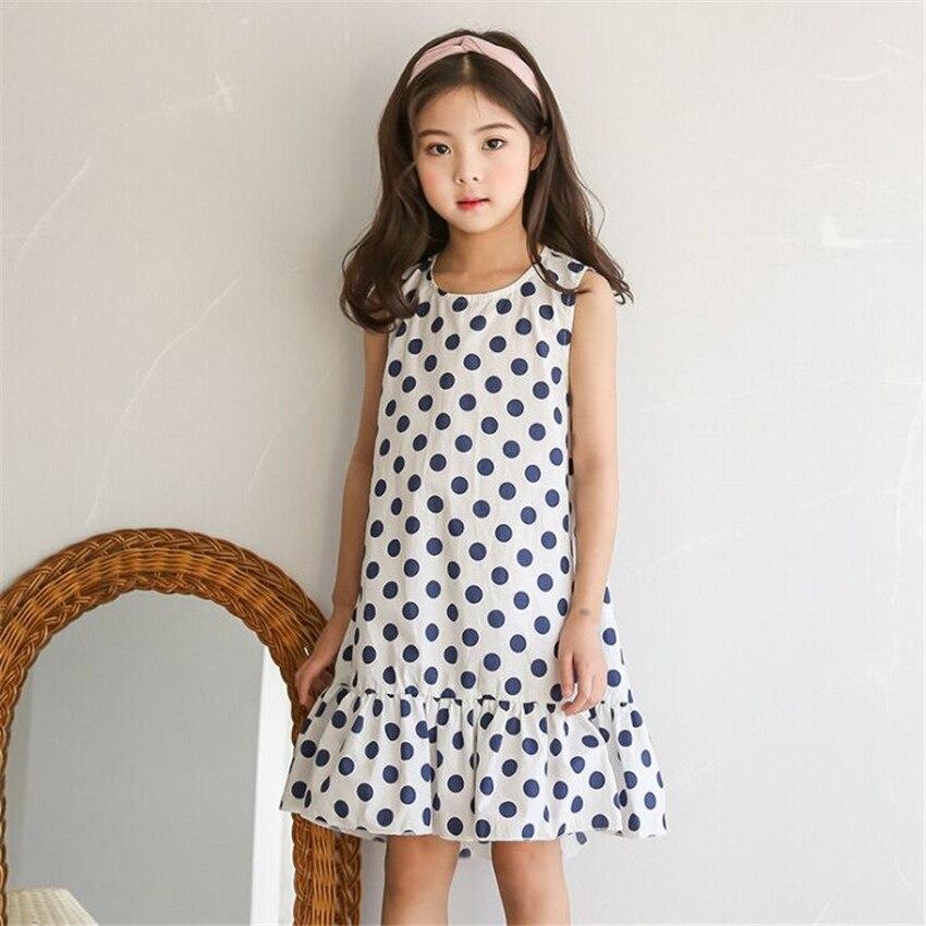 Новые дешевые вещи одежда для малышей летнее платье для девочек праздничное платье принцессы Одежда для детей Minie платья в горошек для дево...