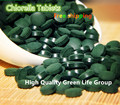 Export level Organic Broken Cell Wall Chlorella Tablets rich of chlorophyll (250mg Per Tablet, Pack of 4000) free shipping