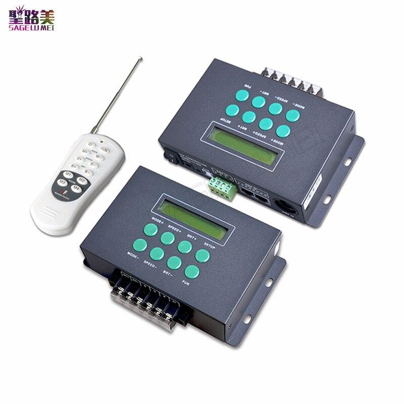 LTECH LT-300 DC12V-24V Funtion Colorido LED RGB DMX Controlador Programável com tela de LCD pequeno Para O módulo da lâmpada led luzes