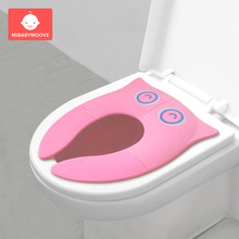 Baby Travel Foldable Potty Seat Portable Toddler Toilet Training Urinal Cushion Children Pot Chair Pad Mat