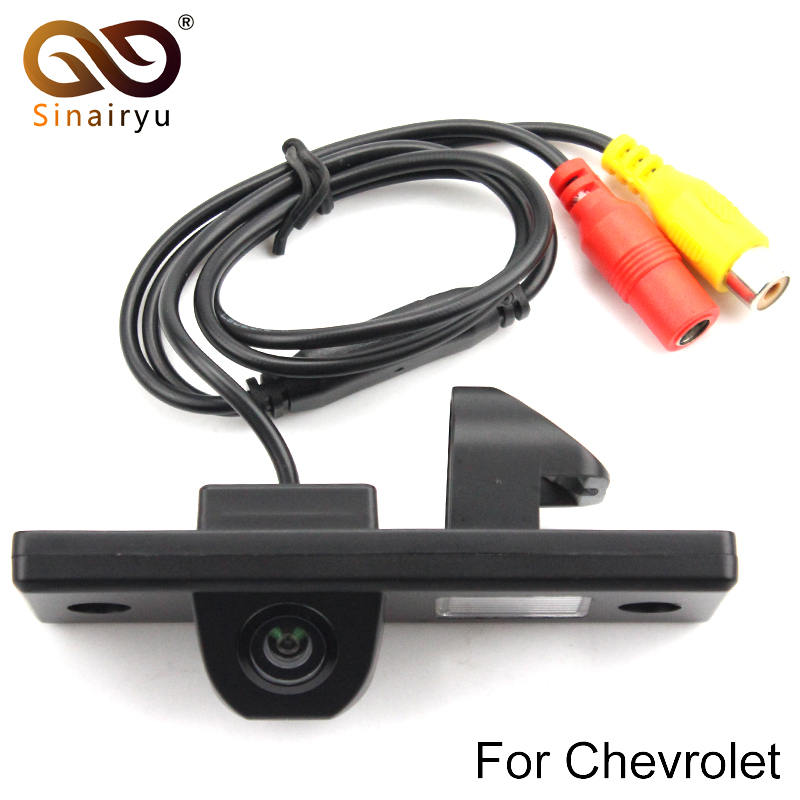 Sinairyu CCD чип вид сзади автомобиля Камера обратный резервный Камера для CHEVROLET EPICA Lova Aveo Captiva Cruze Matis HHR Lacetti