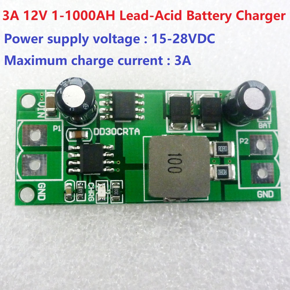 12v 3a 1 1000ah Lead Acid Battery Dedicated Charger Module Board For Mini Solar Panel And Test Home Circuits Ups Car Energy Charging In Integrated From Electronic Components